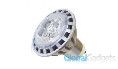 gu10 light bulb 4led high power 400 lumen 4 watt x 1 bulb from global gadgets com. Black Bedroom Furniture Sets. Home Design Ideas